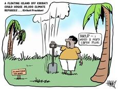 Hawkey, Allan Charles, 1941- :Kiribati. 9 September 2013