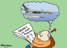 Drones to hunt possums
