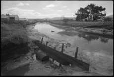 Waiwhetu Stream, Lower Hutt, polluted by industrial waste