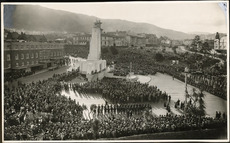 Dedication of the Wellington Cenotaph