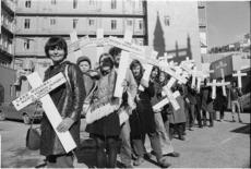 Ecology Action Group demonstrators in Wellington