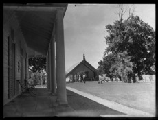 View of the Treaty house, Waitangi