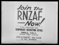 RNZAF recruitment poster