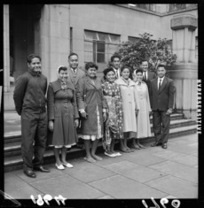 Tokelauan group who came to live in Wellington