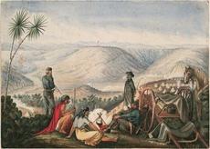 General Chute's forces at Te Pūtahi pā