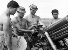 Māori artillerymen in Vietnam