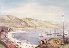 Charles Heaphy, 'Part of Lambton Harbour'