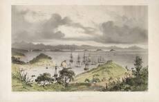 Ships at anchor, Kororāreka