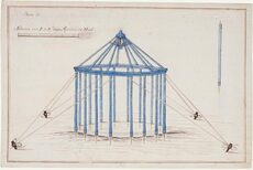 An 18th-century observatory tent