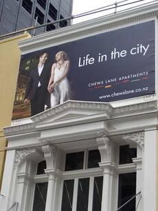 Advertising apartments
