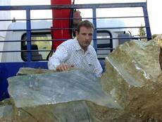 Unauthorised greenstone mining