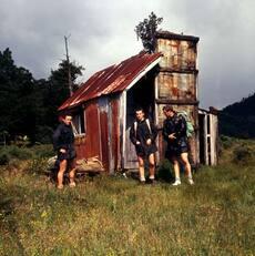 Trampers' hut