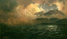 'The phantom canoe: a legend of Lake Tarawera'