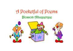 A pocketful of poems / Blossom Albuquerque.