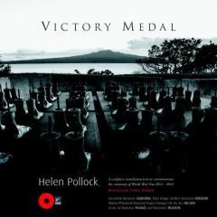 Victory medal : Helen Pollock : a sculpture installation to commemorate the centenary of World War One 2014 - 2018, New Zealand, France, Belgium.