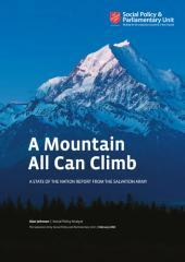 A mountain all can climb : a state of the nation report from the Salvation Army / Alan Johnson.