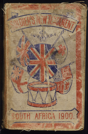 Bible N.T. 1900 :Soldier's New Testament, South Africa, 1900. [Cover]