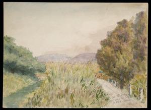 Smith, Maurice Crompton, 1864-1953 :At Te Horo, 3 Feb 1944.
