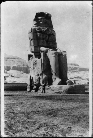 One of the Colossi of Memnon, Luxor