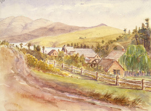 [Haylock, Arthur Lagden], 1860-1948 :[The Mill Grehan Valley Akaroa. 1919?]