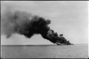 Sinking of Ramb I by HMS Leander