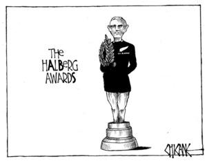 Winter, Mark 1958- :The hAlBerg awards. 10 February 2012