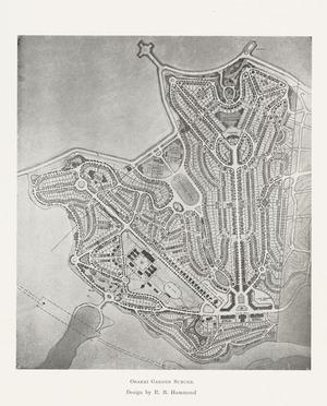 Orakei garden suburb [cartographic material] / design by R.B. Hammond.