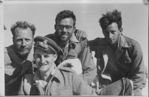 Group of NZ soldiers in Greece - Photograph taken by H G Witters