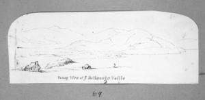 [Mantell, Walter Baldock Durrant] 1820-1895 :Fancy view of ye Northeeste Vallie [1848 or 1850]