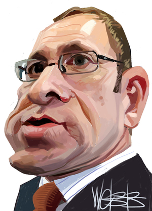 Andrew Little. 27 March 2009