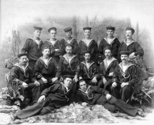 Wilson, R Lois :Wellington Naval Artillery Volunteers. P C Davenport Detachment