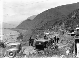 Governor General and party at Pukerua Bay