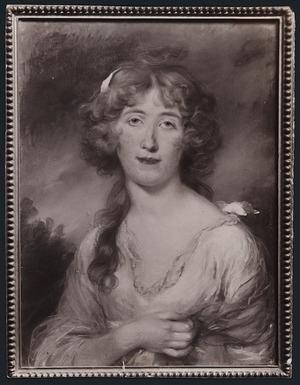 Artist unknown :[Ancestress of Edward Shuttleworth Medley. 1790s?]