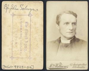 John Richardson Selwyn - Photograph taken by Mrs Williams