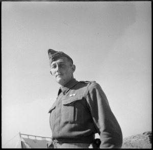 Lieutenant C H Cathie, MC, Egypt