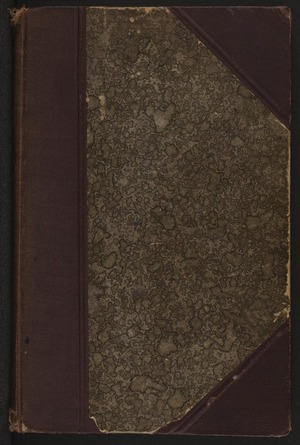 Lighting, R, fl 1889 : Journal of his voyage to New Zealand on the Arawa as valet to the Hon. Algernon Egerton