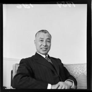 Mr Ishiguro, newly appointed Ambassador of Japan