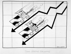 Heath, Eric Walmsley, 1923- :Down grading railways. 22 July 1978.