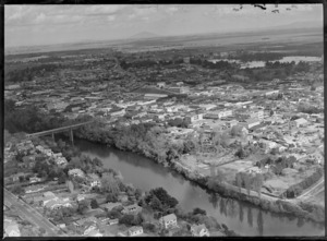 Hamilton, Waikato Region, featuring city centre