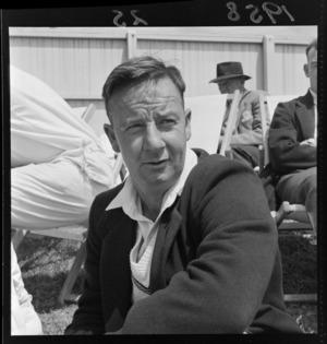Unidentified Otago cricketer