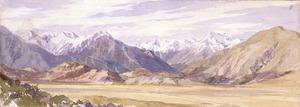 [Barraud, Charles Decimus] 1822-1897 :West Coast road [1870s]