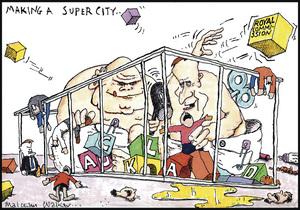 Making a super city... 11 April 2009