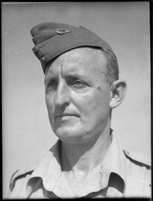 Bdr A O Keating, DCM - Photograph taken by G Bull