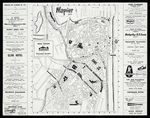 Napier city [cartographic material] / compiled by I.L. Mills.