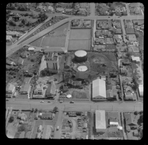 Hamilton Gas Works, including housing