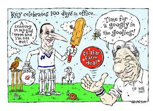 Hodgson, Trace, 1958- :Key celebrates 100 days in office...4 March 2012