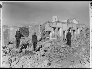 Fort Capuzzo with NZ troops, Libya