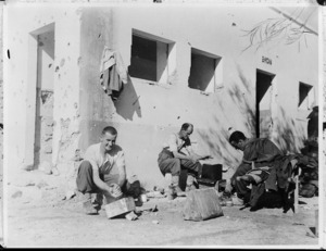 New Zealanders in Fort Capuzzo, Libya
