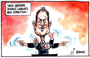 Evans, Malcolm Paul, 1945- :David Shearer signals Labour's new direction. 16 March 2012