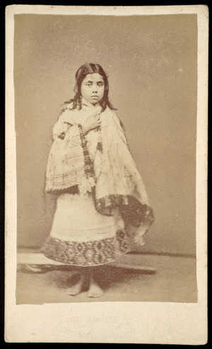 American Photographic Company (Auckland) :Unidentified Maori child